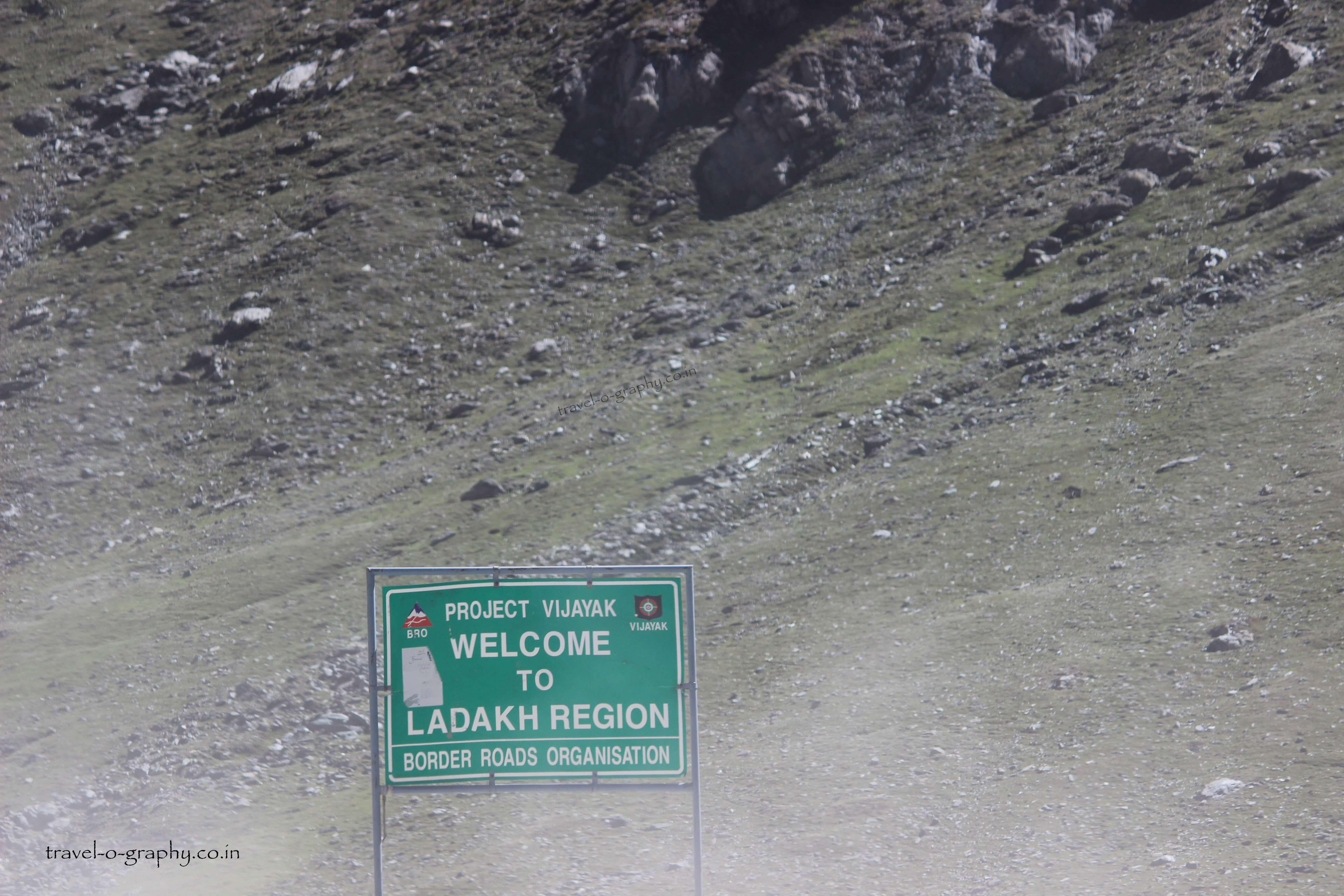 Entry to Ladakh