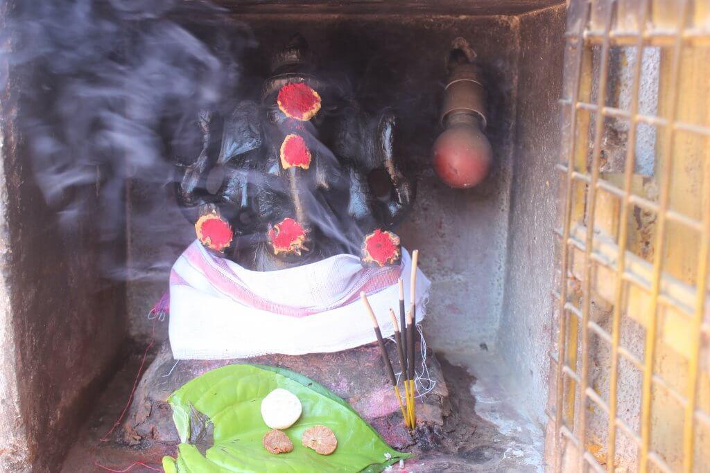 Hindu deity Ganpati Idol