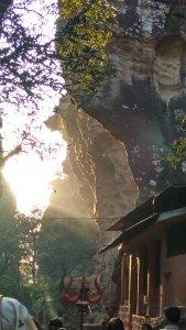 Mountains of Jata Shankar caves