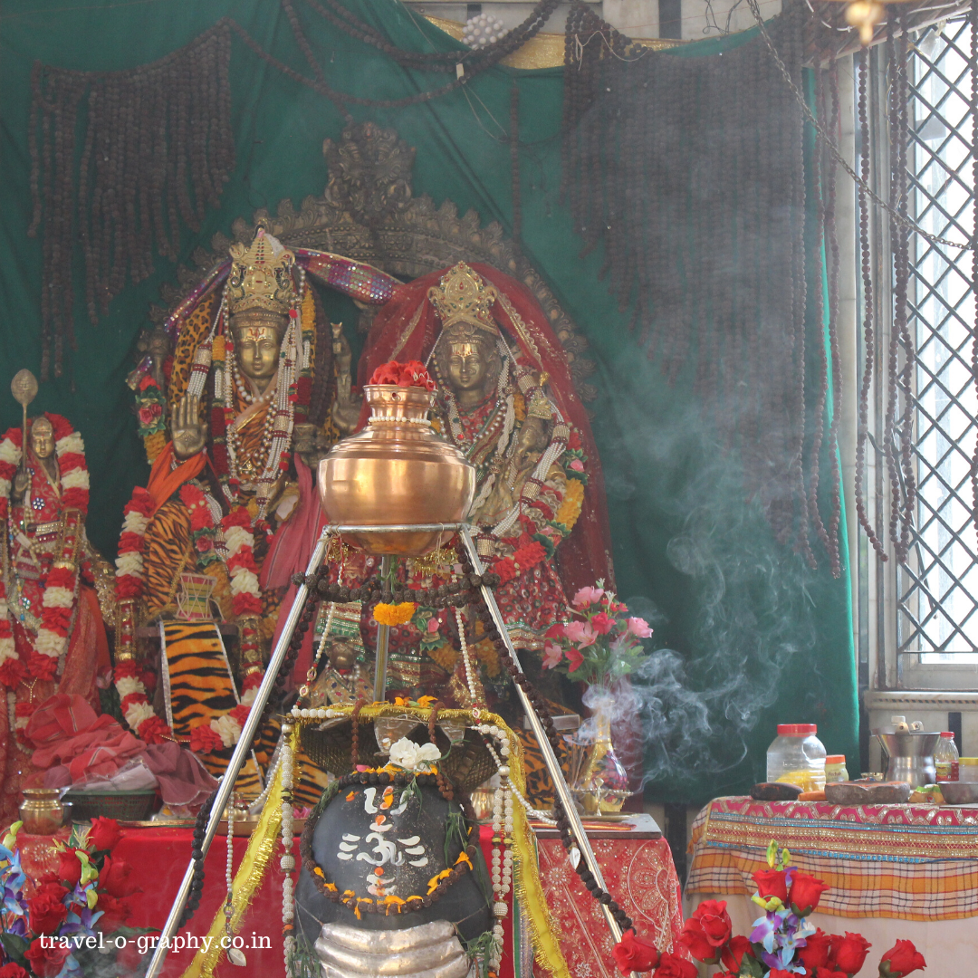 Shiva temple at Manikaran