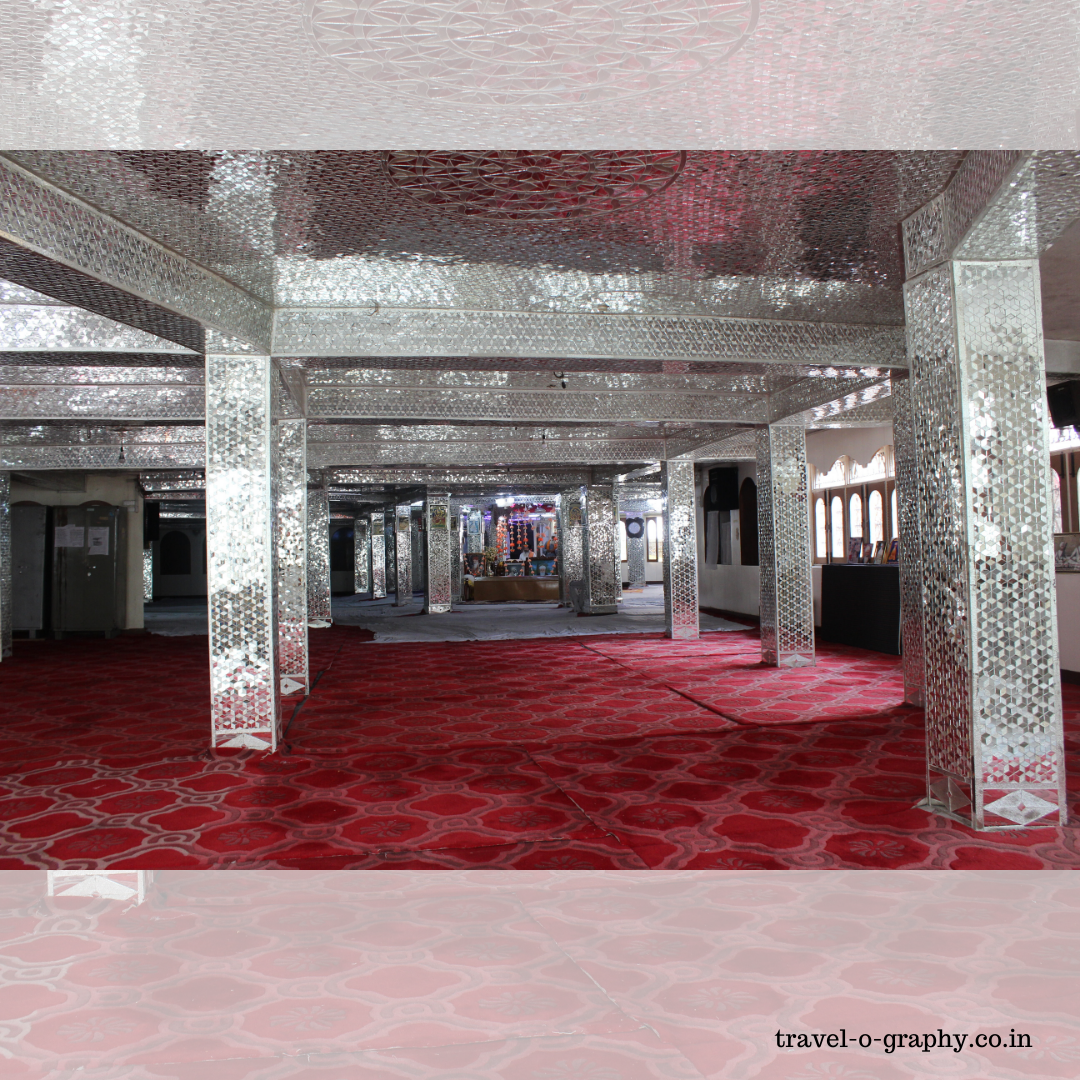 Inside view of Manikaran sahib Gurdwara